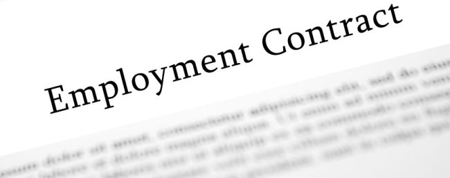 employment contract uae
